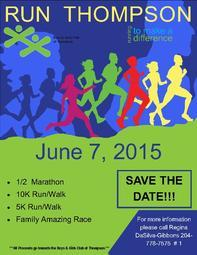 Save The Date.Run Thompson 2015
